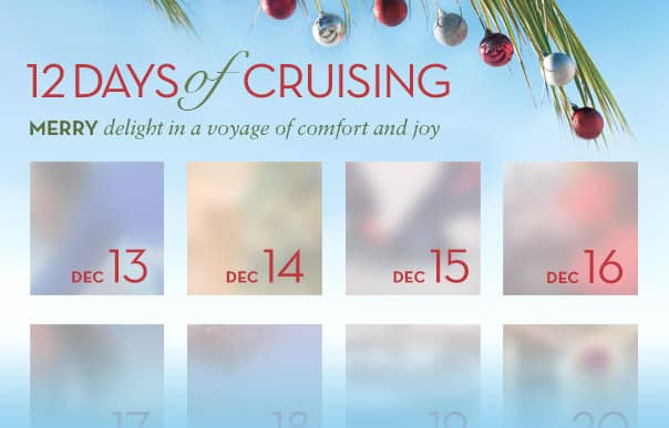 Tune in to social media for the 12 Days of Cruising!