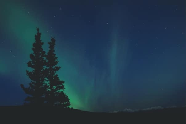 Bask in the glow of the Northern Lights in Norway.