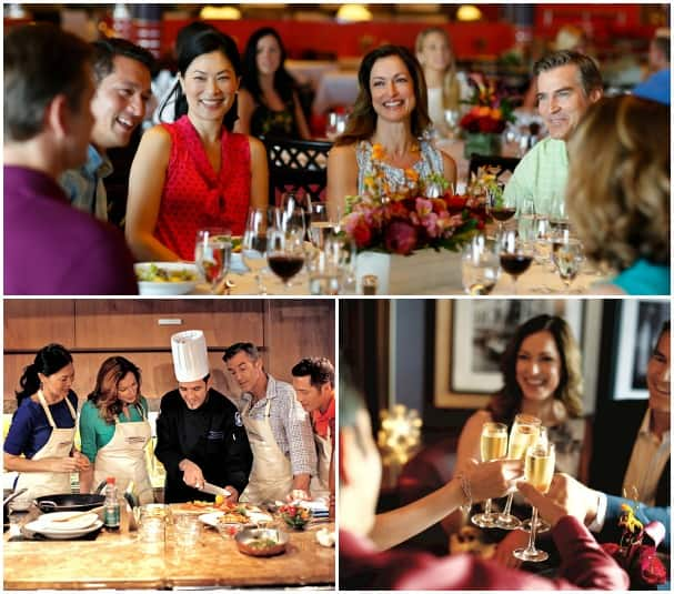 Roll Call allows you to connect before the cruise, so once onboard you can meet up for dinner, drinks and activities.