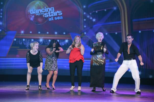 The eliminated guests showed off some final moves.