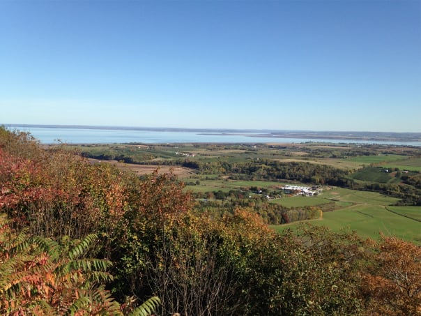Gorgeous scenery awaits on the Blomidon Hike & Grand Pre tour.