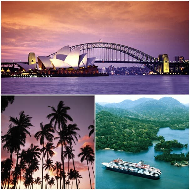Sydney, Hawaii and the Panama Canal await, so take advantage of the Seas the Day promotion!