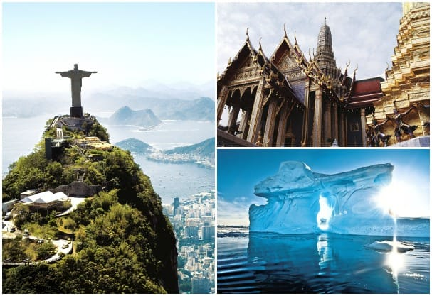 Book a segment of a Grand Voyage and travel to several countries on one cruise.