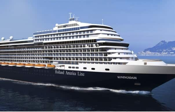 Bookings for  Koningsdam's European itineraries open Saturday, Feb. 7.