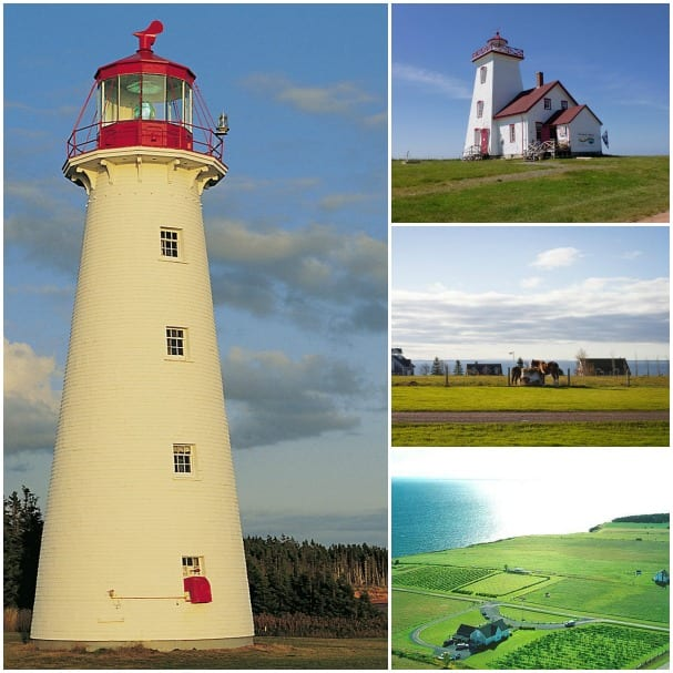 Visit Prince Edward Island's famous sites on the PEI Coast & Cellar tour, including Point Prim Lighthouse.