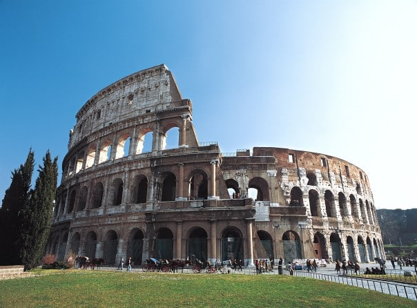 Rome's Colosseum is the perfect mix of stunning architecture and intriguing history.
