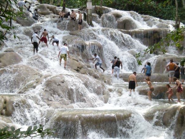 Are you in for adventure? How about a hike up Dunn's River Falls on calls at Montego Bay or Falmouth, Jamaica.