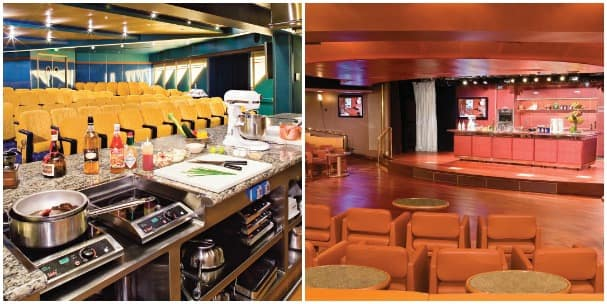 The Culinary Arts Centers on the 15 ships in the fleet are incredible show kitchens that host some of the finest experts in the world.
