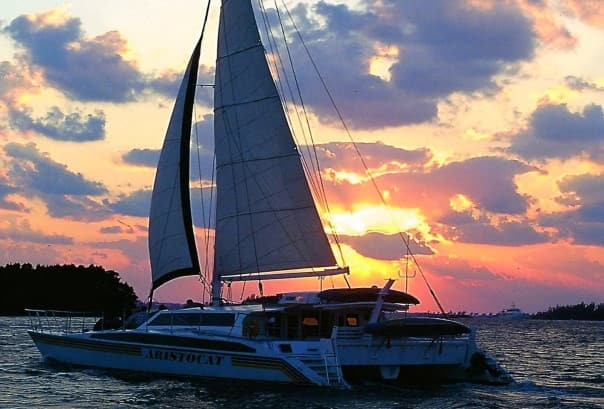 A sunset sailing is the perfect end to a perfect first day in Bermuda.