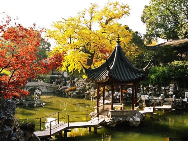 Dotted with lakes and ponds, the Humble Administrator's Garden is one of the most famous in all of China.