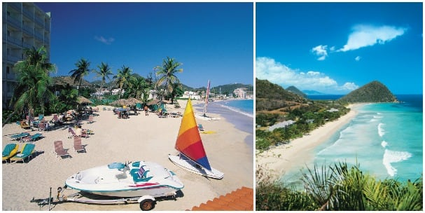The beautiful beaches of St. Maarten and Tortola are showcased on the nine-day cruises.