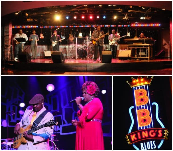 B.B. King's Blues Club expands to Koningsdam as part of the Music Walk complex.