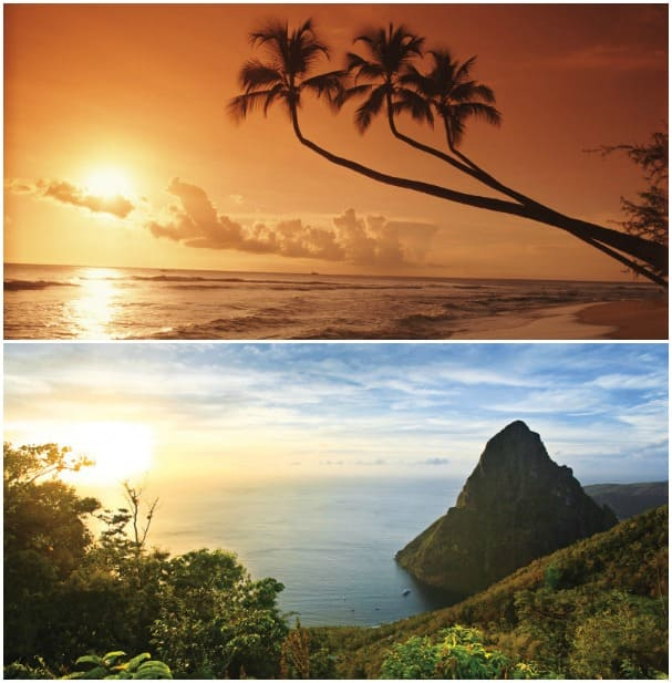 More gorgeous ports like Barbados, above, and St. Lucia with its famed Pitons, highlight the 11-day cruises.