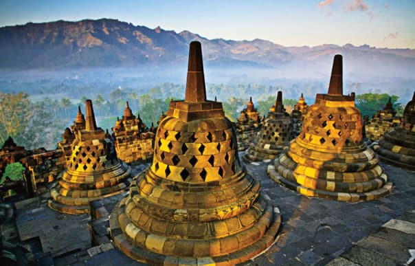 HAL's shore excursion Collections feature world wonders and once-in-a-lifetime opportunities like Borobudur.