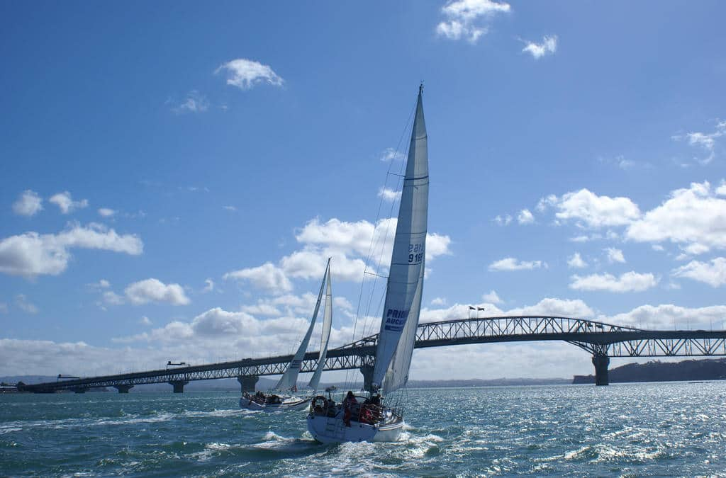 You can sail with Pride of Auckland on the Waitemata Harbour.