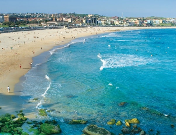 On the edge of Sydney, Bondi Beach is one of the world's most famous beaches.