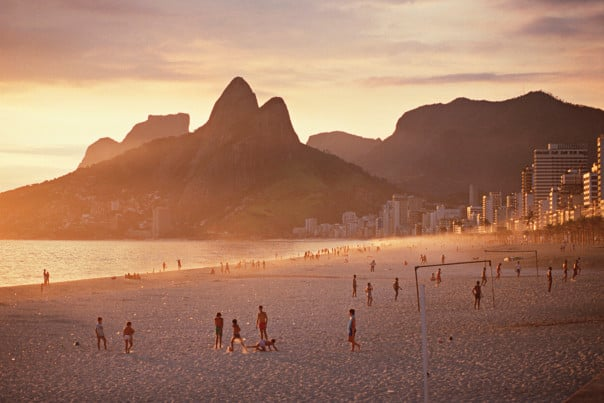 Ipanema Beach, at Rio de Janeiro, is subject of songs and stories.