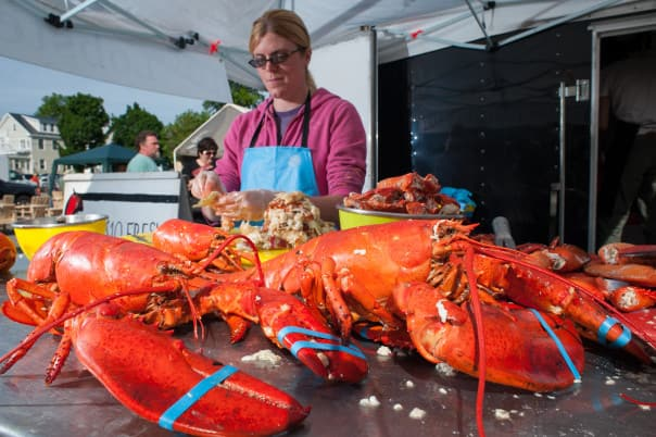 There's nothing quite like fresh lobster! Photos courtesy of Cruise Atlantic Canada.
