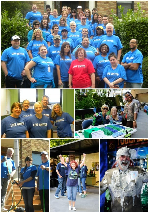 HAL employees participate in a variety of United Way activities, including the barbecue kickoff and citywide Day of Caring.