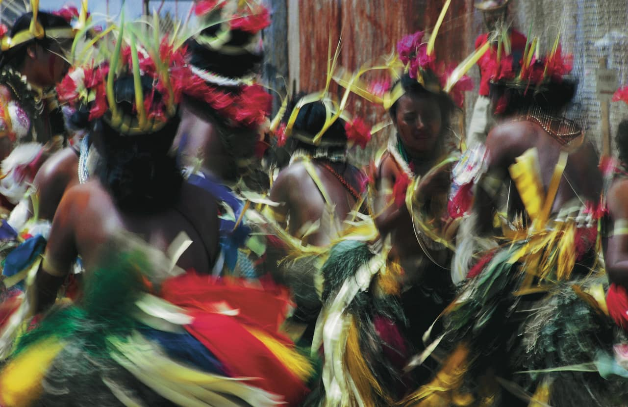 You can watch the cultural dances at Micronesia's many islands.