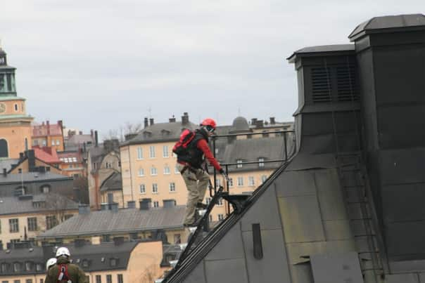 Get a bird's-eye view of Stockholm on the rooftop tour.