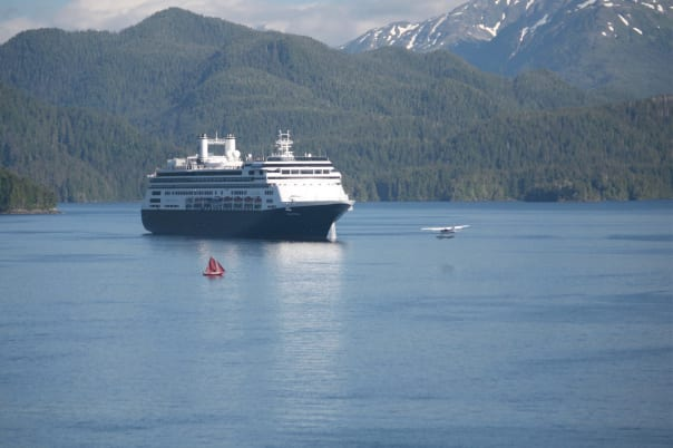 Mary Oaksmith Nichols snapped Rotterdam sailing out of Ketchikan.