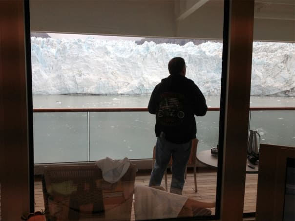 Morning coffee and a Glacier view..what else can you ask for!!! — Trish Wagner
