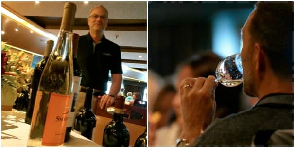 Winemaker Bob Bertheau from Chateau St Michelle winery. Photos by Chris Owen.