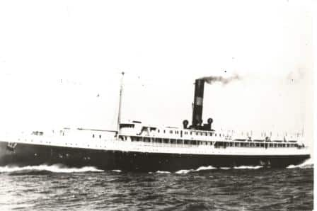 The ss Madison in approx. 1926 after she returned to her original owner.