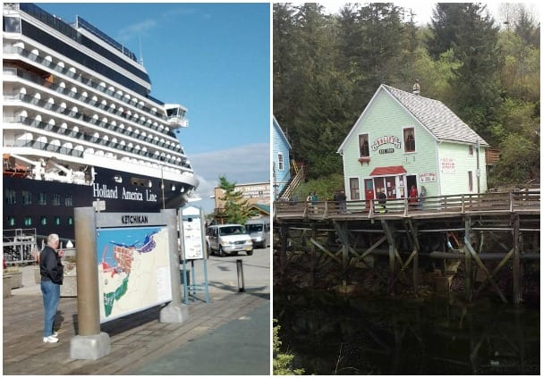 Diane Skorupski took her photo, left, last summer, while Lucie M Jackson snapped this of the Doll's Museum in Ketchikan last week!
