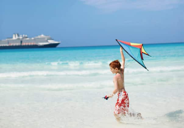 Half Moon Cay has a variety of fun activities for kids of all ages.