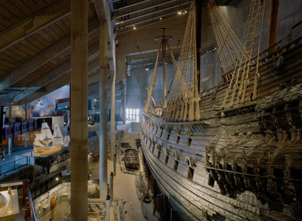 The Vasa was salvaged and restored and is today the centerpiece of Stockholm's Vasa Museum.