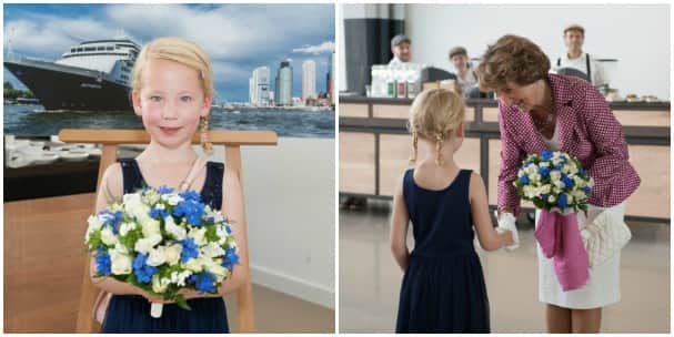 Margot Bartelink presented HRH Princess Margriet with flowers to honor the occasion.