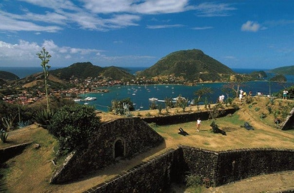 Fort Napolean is a highlight of the Les Saintes tour in Guadeloupe.