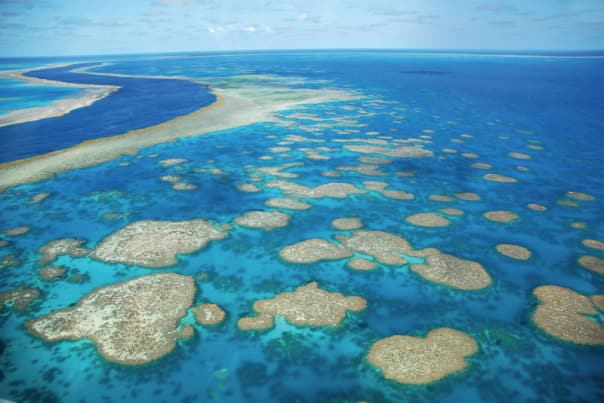 Cruising around the Great Barrier Reef is a highlight of the Australia circumnavigation.