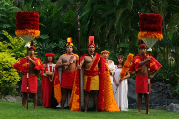 The Polynesian show at Honolulu brings together several cultures.