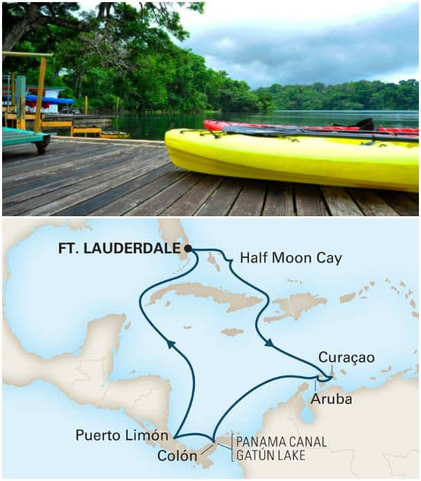 Guests on Sunfarer itineraries can go ashore at Gatun and take a variety of tours.