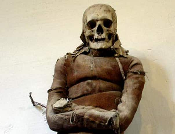 Visit the catacombs of the Capuchin Friars at Palermo.