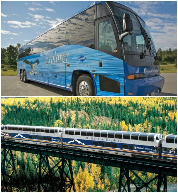 Our luxury Explorer Coaches and McKinley Explorer show off Alaska's interior in style.
