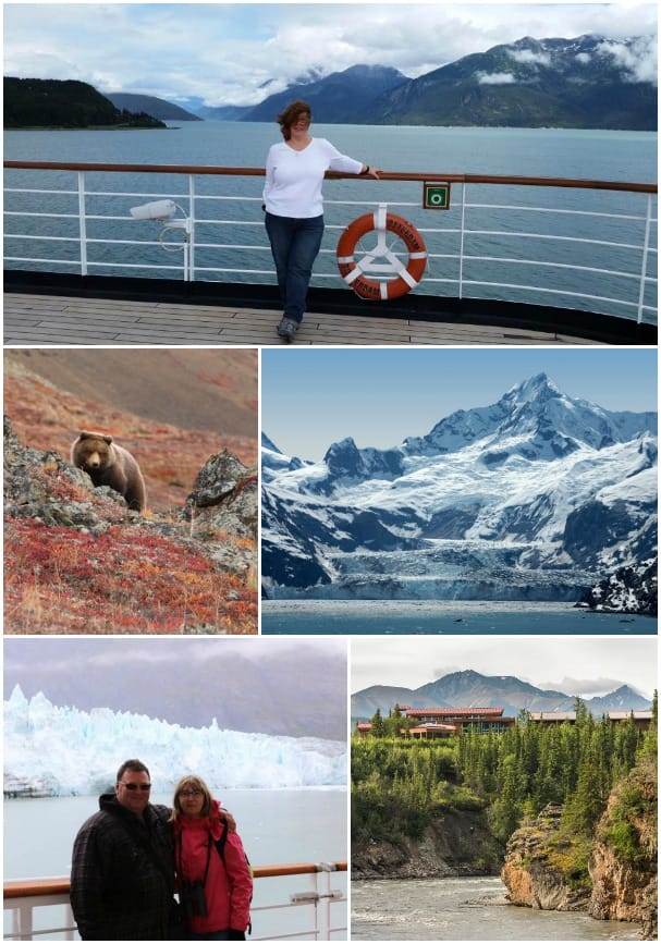 Holland America Line fans, including Lynne Legal-Lowe, bottom, and Connie Martin, agree Alaska is number-one on their cruise wish-list.