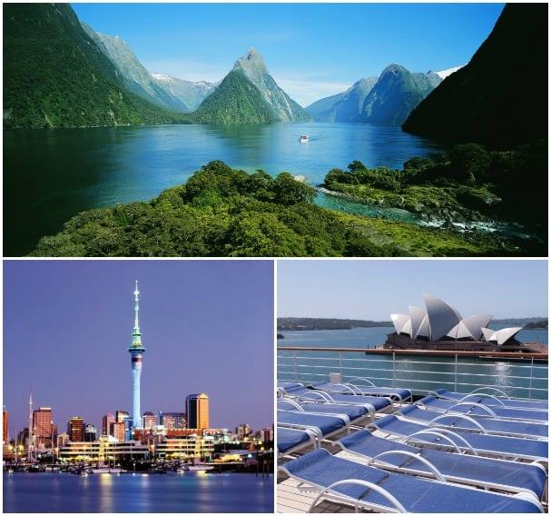 Milford Sound, Sydney and Auckland are a few highlights on the New Year's cruise Down Under.