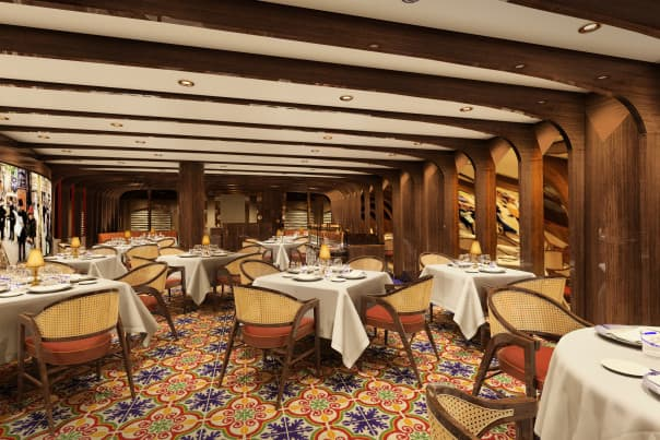 Sel de Mer will be a new dining concept on Koningsdam.