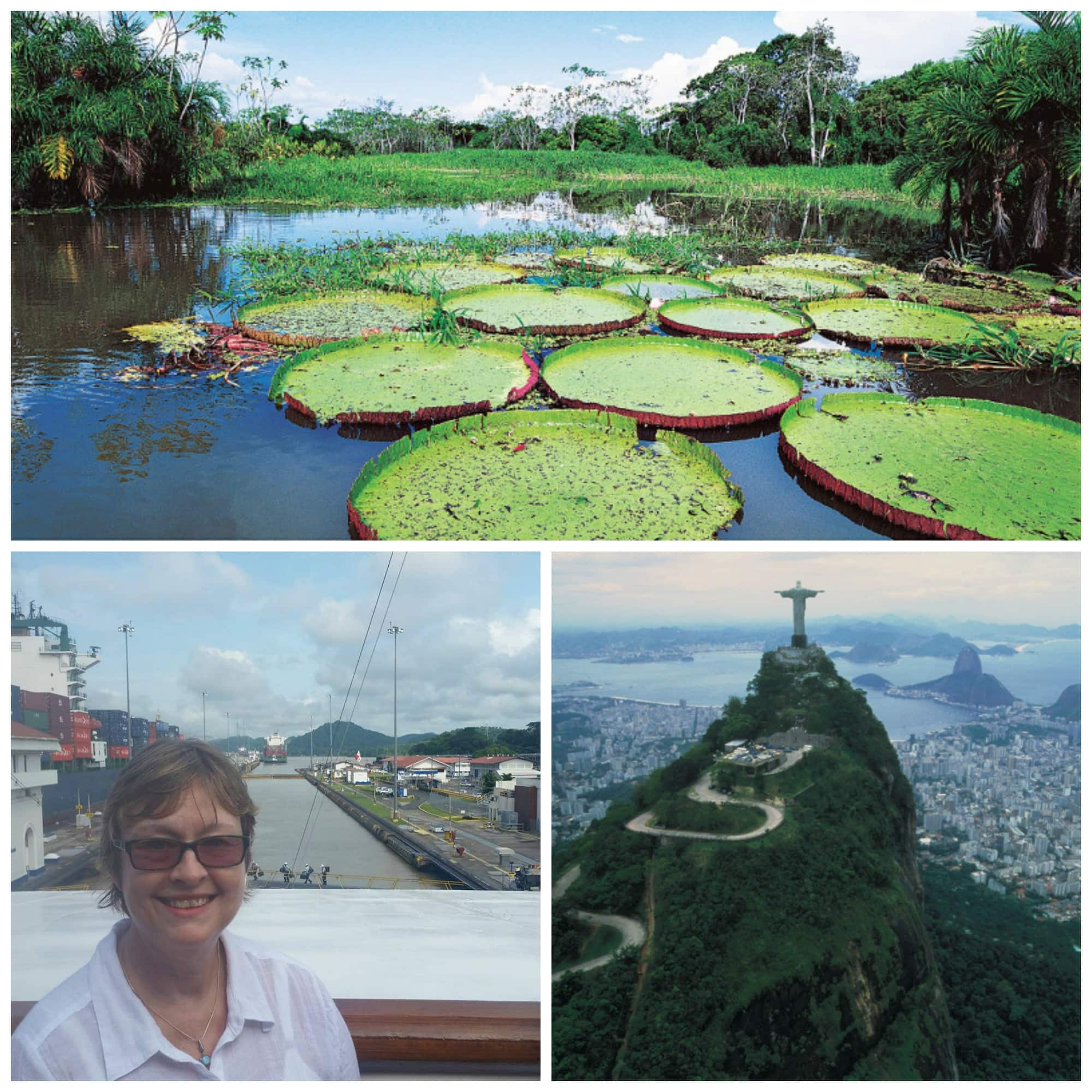 The Amazon, Rio's Corcovado and the Panama Canal (with guest Cris Senseman) are a few highlights on some South America cruises.
