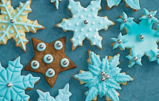 Make the season sweet with delicious holiday cookies and cocktails.