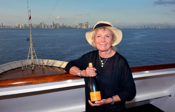 Eva Eliscu was the first Culinary Arts Center guest expert cruising with Holland America Line this year, but certainly not the last.