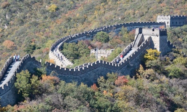 The Great Wall of China is a site not to be missed on voyages that feature the opportunity to visit.