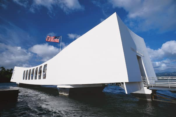 Pearl Harbor is a memorable tour for guests when the ship calls at Honolulu.