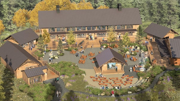 Base Camp will be ready for guests in 2016.
