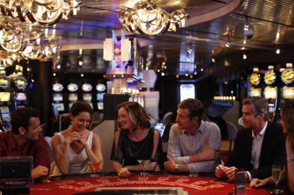 Try your luck in the casino with the group Vegas Package.