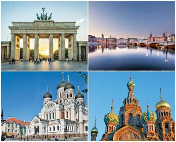 The Baltic features some of the most impressive and significant architecture in the world.